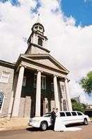 セントラルユニオン教会大聖堂前にて