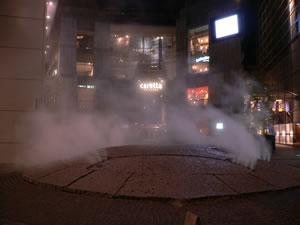 カレッタプラザにある「亀の噴水」です